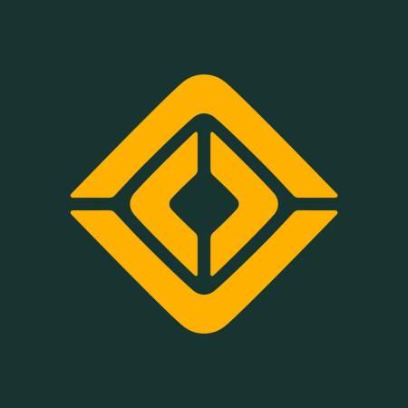 Graphic of Rivian Automotive's logo.