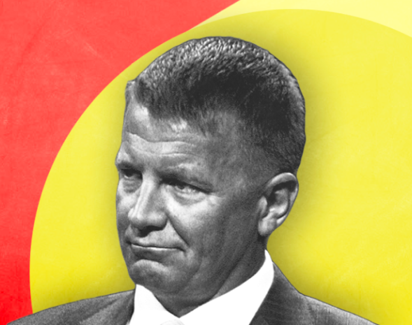 Graphic of Erik Prince.