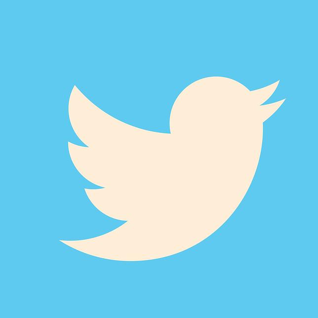 Twitter logo.