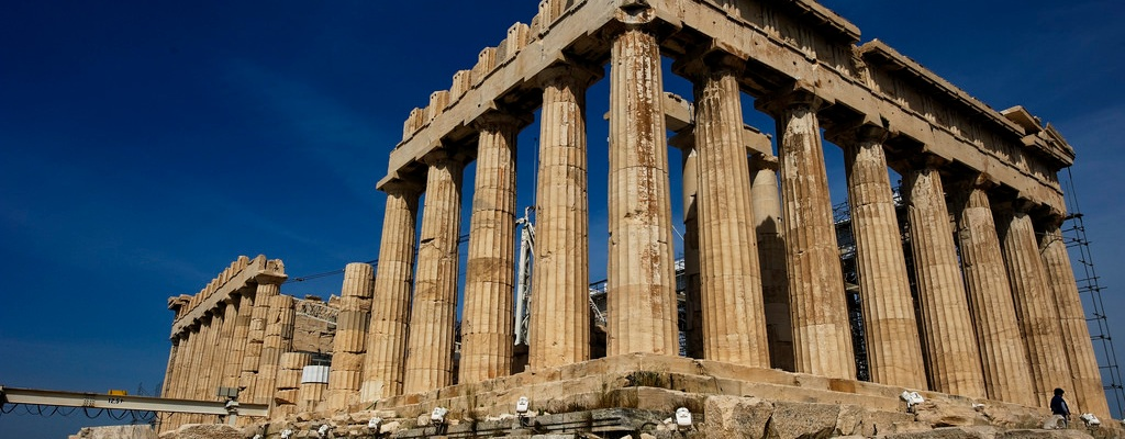 Image of Greek acropolis.