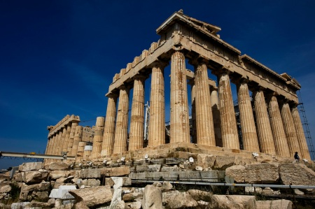 Image of Greek acropolis.