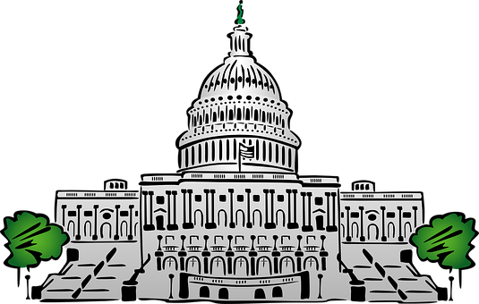 Graphic of the Capitol Building in Washington D.C.