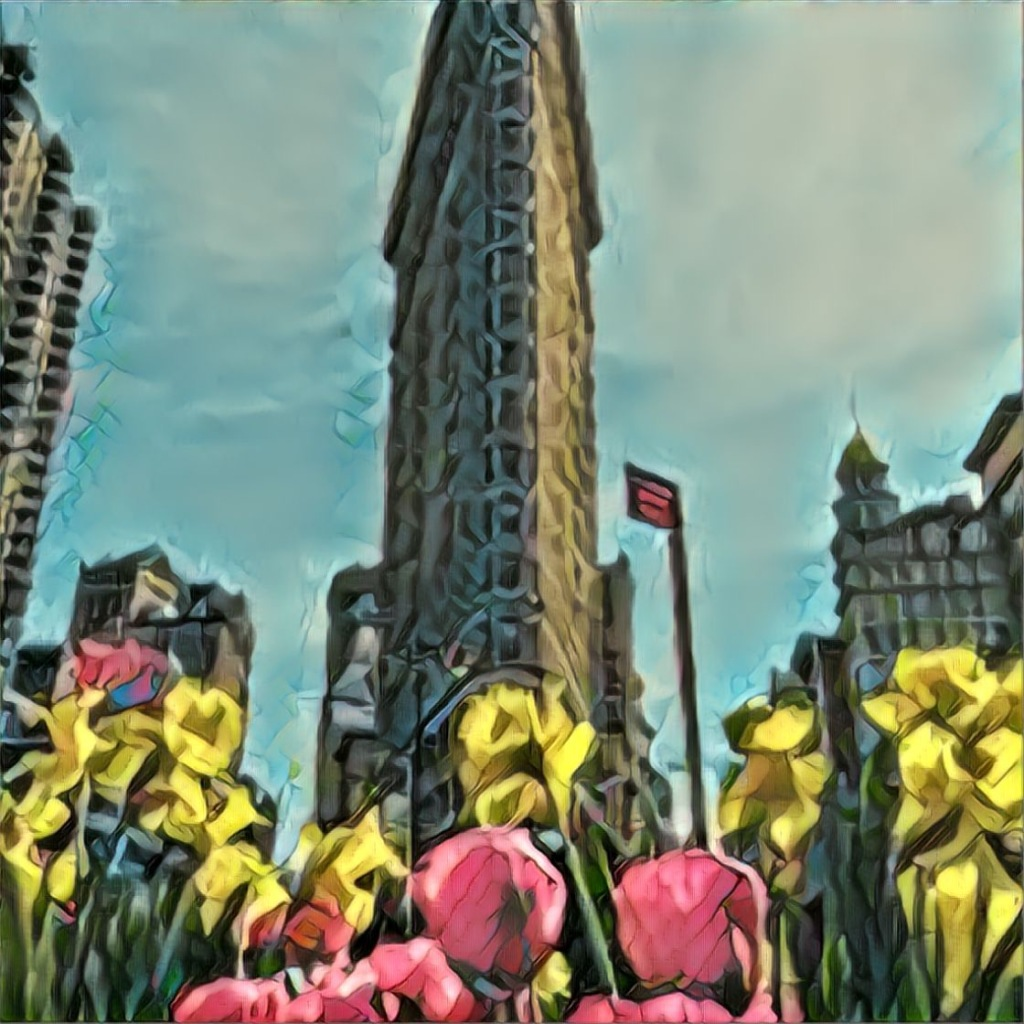 An illustration of New York