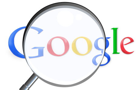 A logo of Google
